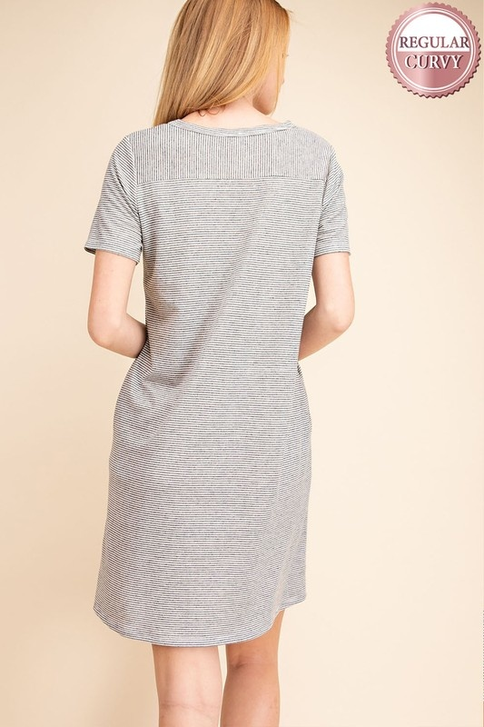 Mittoshop French Terry Knit Dress