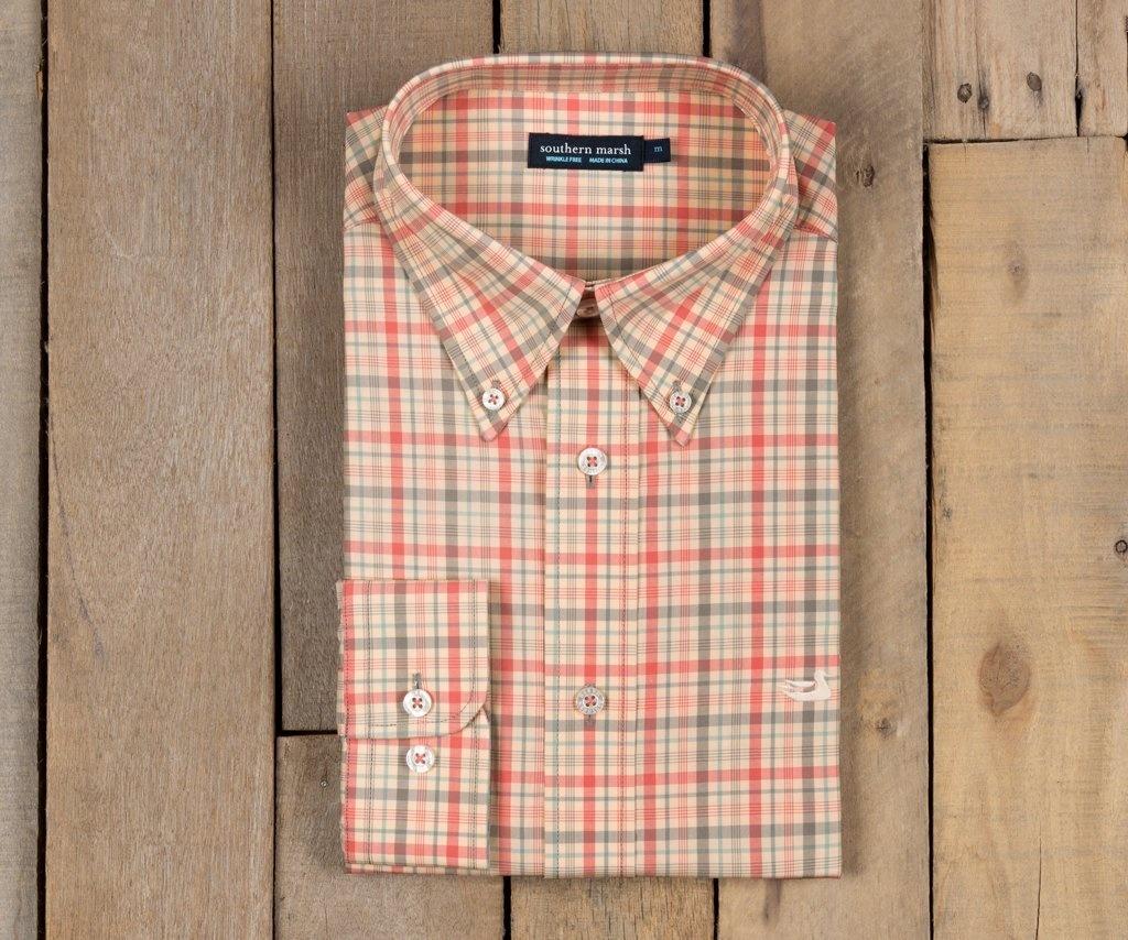 Southern Marsh Calhoun Check Dress Shirt