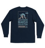 Southern Marsh Summit Poster Tee -  Long Sleeve