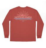 Southern Marsh Branding Sunset Tee - Long Sleeve