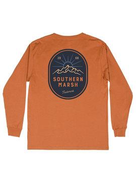 Southern Marsh Branding Mountain RiseTee - Long Sleeve