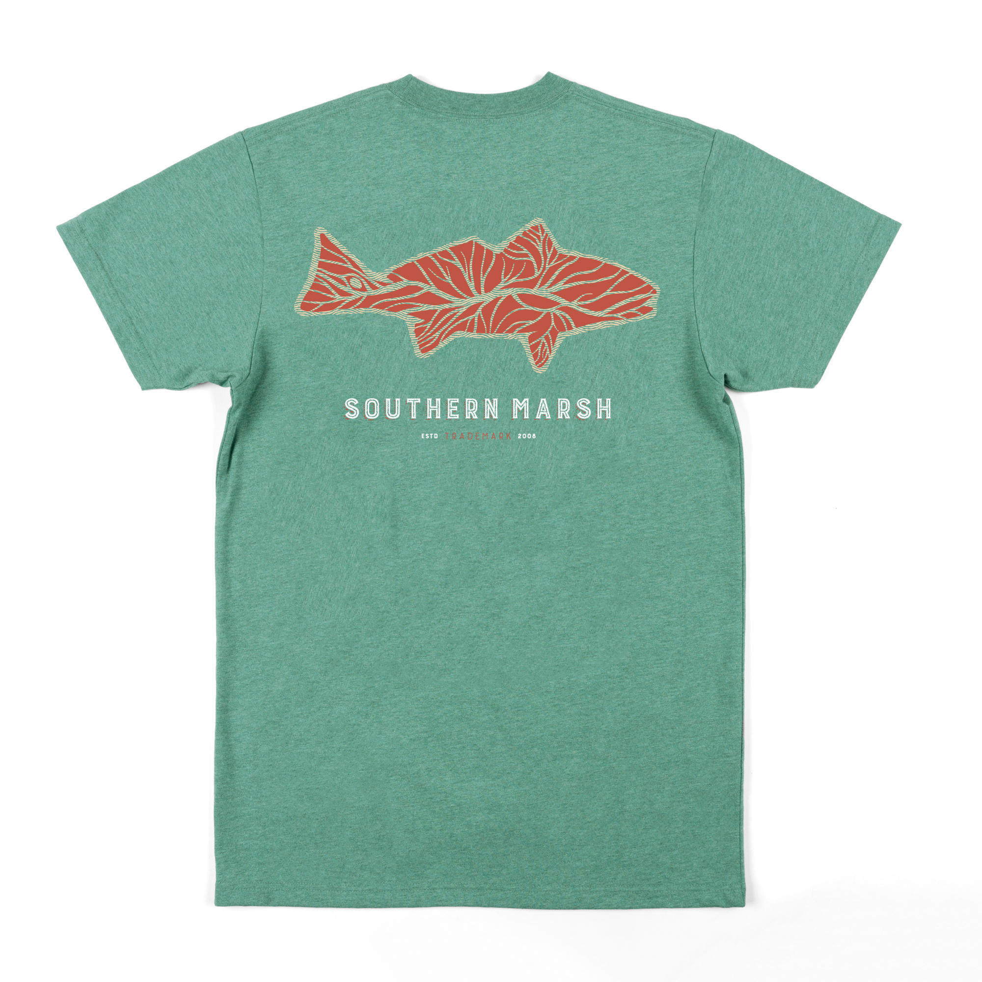 Southern Marsh Delta Fish Tee - Short Sleeve