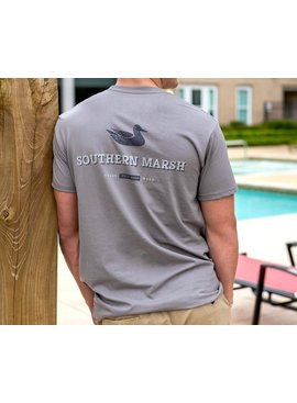 Southern Marsh Trademark Duck Tee - Short Sleeve