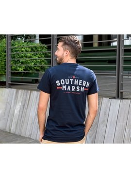 Southern Marsh Branding Collection Tee - Federalist
