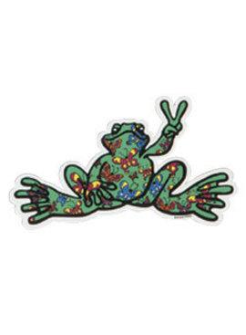 Peace Frogs Butterfly Fill Sticker