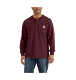 Carhartt Workwear Long-Sleeve Henley T-Shirt