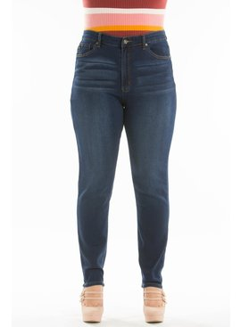 Gemma High Rise Super Skinny Jeans