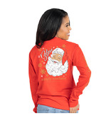Simply Southern Collection SANTA BELIEVE LONG SLEEVE T-SHIRT