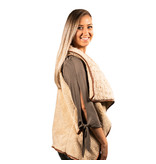 Simply Southern Collection REVERSIBLE SHERPA VEST