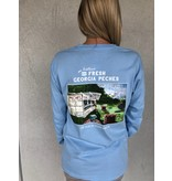 Peach State Pride 'Peches' Long Sleeve Tee