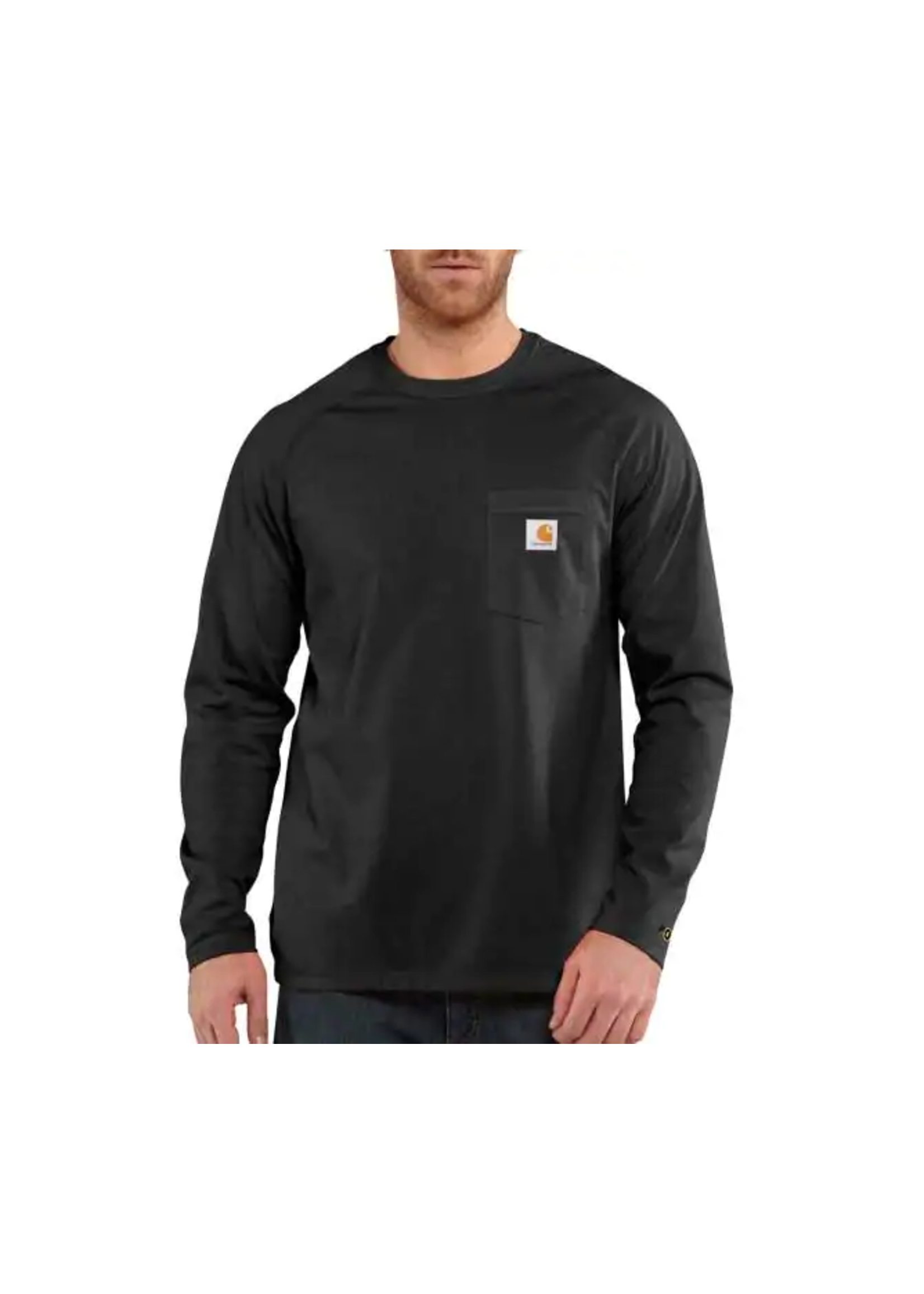 Carhartt Tall - Carhartt Force® Cotton Delmont Long-Sleeve T-Shirt