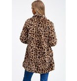 Montrez Animal Print Coat
