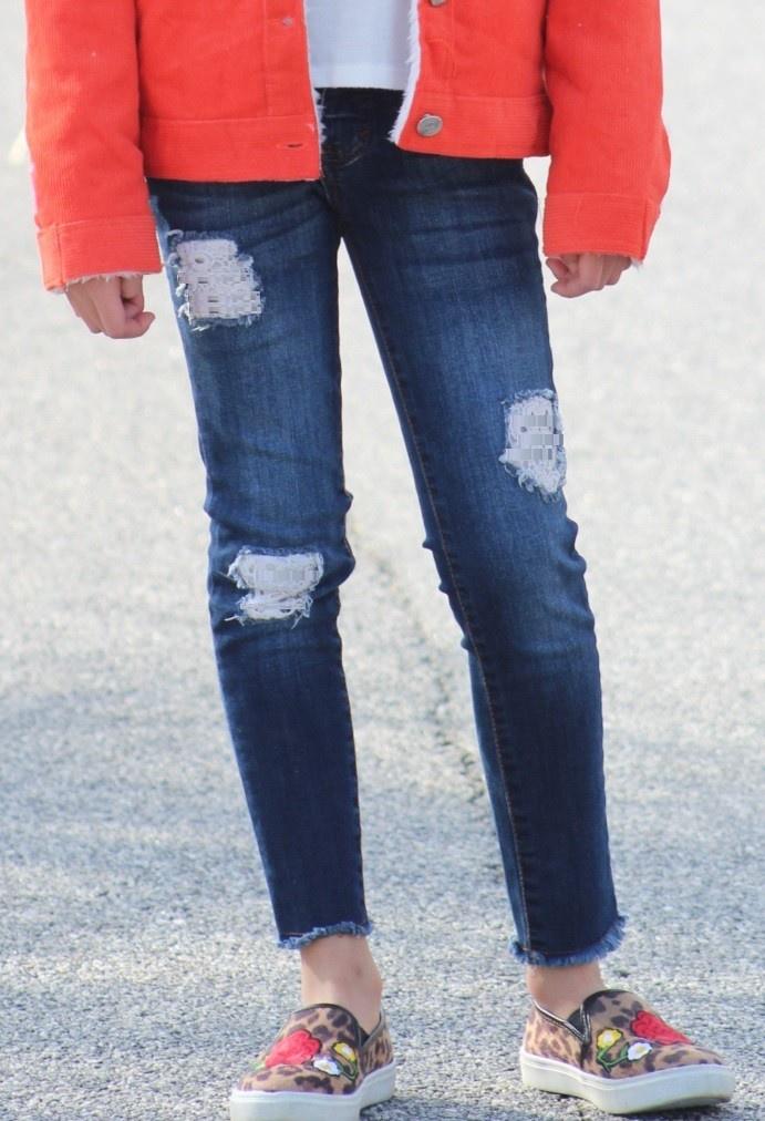 Wash Denim Jeans