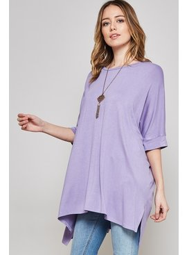 Beeson River Plus Solid Tunic Top