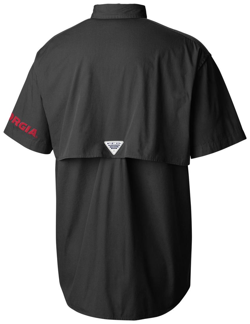 Columbia Sportwear Georgia Bulldogs Columbia Bonehead Shirt - Black
