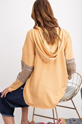 Soft Terry Knit Top