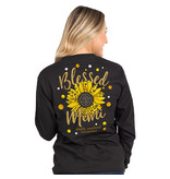 Simply Southern Collection Simply Southern Blessed Mimi L/S T-Shirt