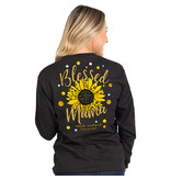 Simply Southern Collection Simply Southern Blessed Mama  L/S T-Shirt