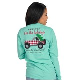 Simply Southern Collection Simply Southern Preppin' For The Holiday L/S T-Shirt