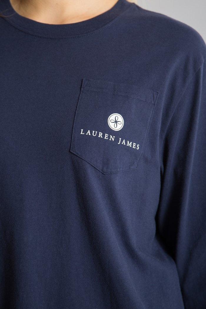 Lauren James Born and Raised Tee L/S