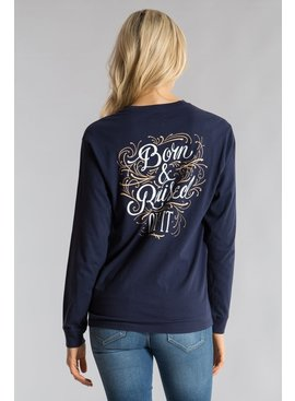 Lauren James Born and Raised Tee L/S