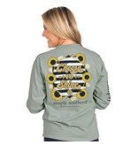 Simply Southern Collection Youth Choose To Shine LS T-Shirt