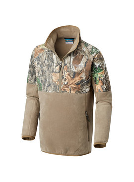 Columbia Sportwear Boys' PHG™ Overlay 1/4 Zip Fleece Pullover