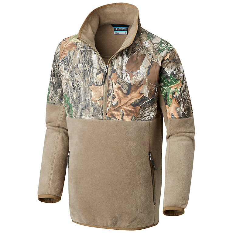Columbia Sportswear Boys' PHG™ Overlay 1/4 Zip Fleece Pullover