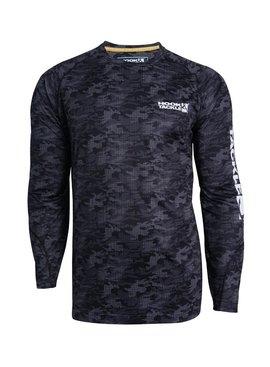 Hook & Tackle Men's Dot Camo L/S UV Fishing Shirt