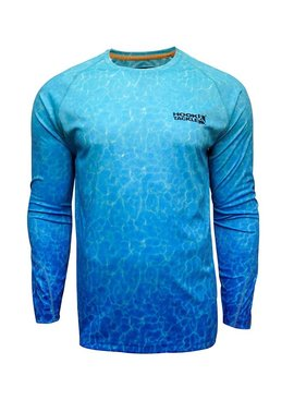 Hook & Tackle Men's Aquatica L/S UV Fishing Shirt