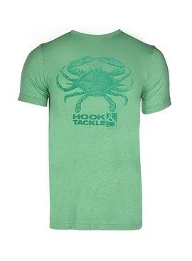 Hook & Tackle Men's Crab Reelsoft Premium Fishing T-Shirt