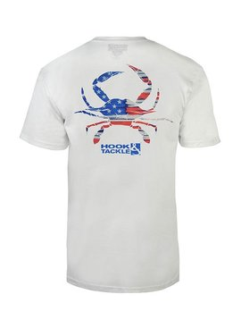 Hook & Tackle Men's Crabbin USA Premium T-Shirt
