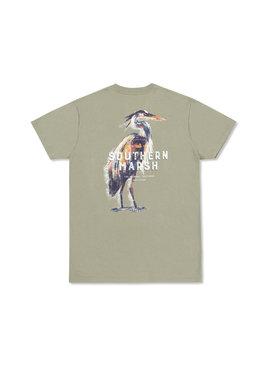 Southern Marsh Impressions - Heron