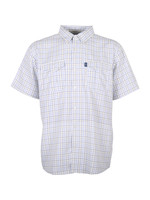 AFTCO Intersection Short Sleeve Botton Down Shirt