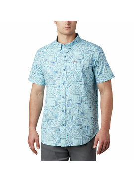 Columbia Sportswear Men's Rapid Rivers™ Printed Short Sleeve Shirt