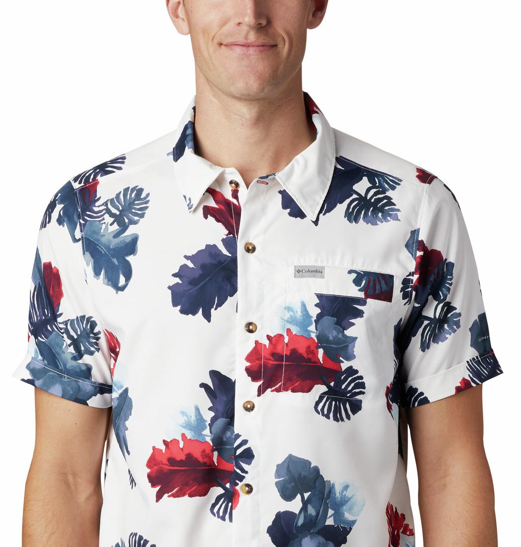 Columbia Sportswear Men's Outdoor Elements™ Short Sleeve Print Shirt