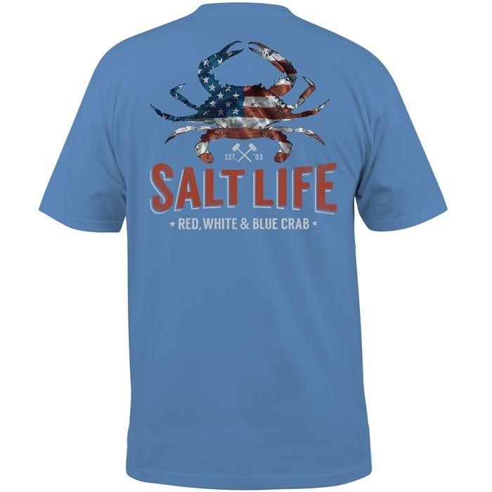 Salt Life American Crab Pocket Tee