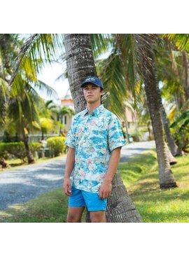 Salt Life Boat Life Woven Shirt