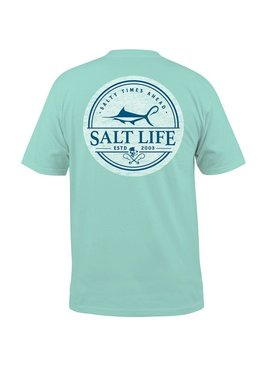 Salt Life Forecast Pocket Tee