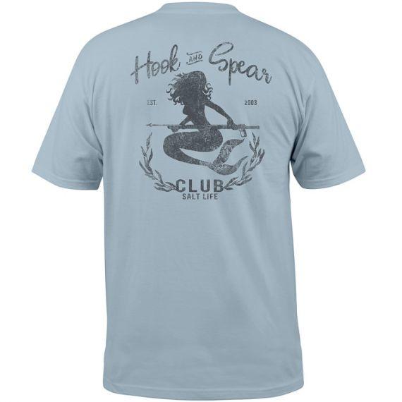 Salt Life Hook and Spear Club Pocket Tee