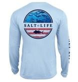 Salt Life Respect Performance Long Sleeve Pocket Tee