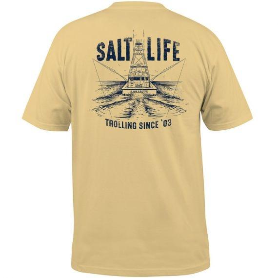 Salt Life Trolling Club Pocket Tee