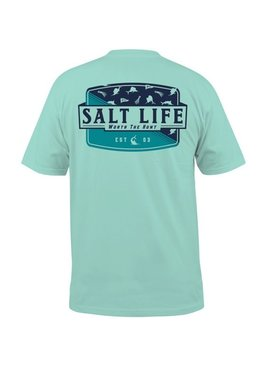Salt Life Worth the Hunt Pocket Tee