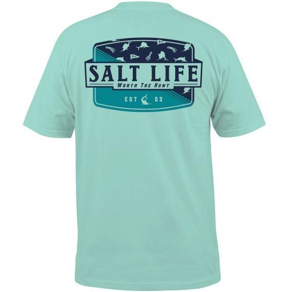 Salt Life Worth the Hunt Pocket Tee
