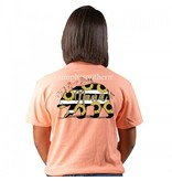 Simply Southern Collection Nana Bear Sunflowers Short Sleeve T-Shirt -Peachy