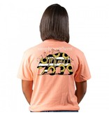 Simply Southern Collection Mimi Short Sleeve T-Shirt - Peachy