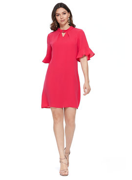 Aryeh ARYEH Erika Bell Sleeve Dress