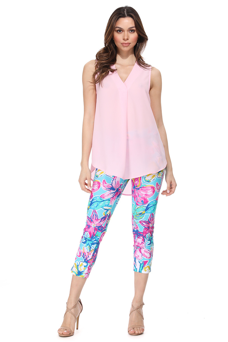 Aryeh ARYEH Fitted Cropped Pants