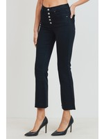 Tricot by C'est Tol Mid-Rise Crop Skinny Flare