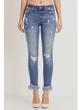 Tricot by C'est Tol Mid-Rise Crop Jeans